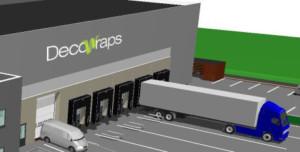 Optimaal ruimtegebruik levert Decowraps kostenefficiënte operatie op