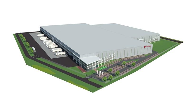 Nieuw Build to Suit DC Hollister in Roosendaal - Groenewout