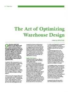 The Art of Optimizing Warehouse Design (Nekst magazine)