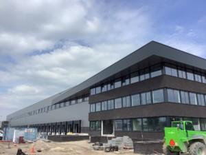 Projectmanagement en directievoering nieuwbouw DC Vos Logistics Oss