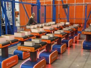 Autonome mobiele robots verdringen de conveyor